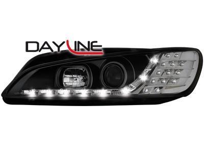 Dectane Přední světla LED Devil Eyes Peugeot 306