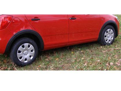 Lemy blatníků Škoda Fabia II Combi
