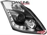 Přední světla černá Devil Eyes Nissan 350Z