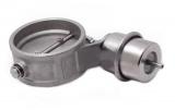 Podtlaková mechanická výfuková klapka 63mm - zavřená - negativní tlak (vacuum)