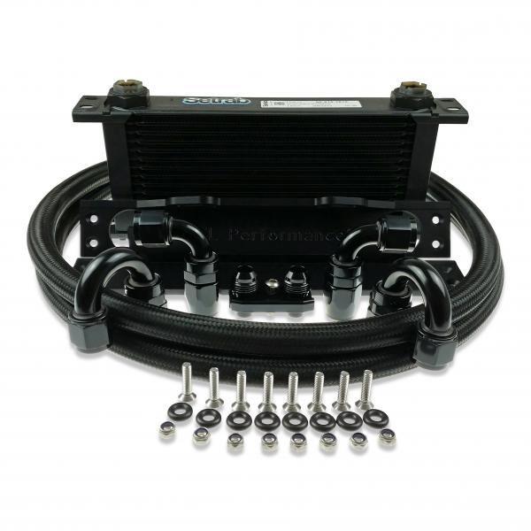Olejový chladič kit 16 šachet Hel Performance na BMW 3-Series E46 všechny modely včetně M3 (01-06)