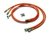 Vedení hydraulické ruční brzdy Hel Performance na Nissan 200SX S15 (99-02)