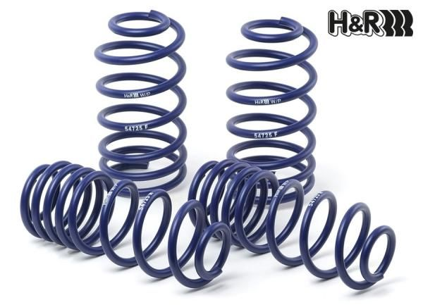 Sportovní pružiny H&R pro Seat Ibiza Cupra/FR Typ 6L, pouze pro Cupra/FR, r.v. od 03/02, snížení 30-35/30-35mm