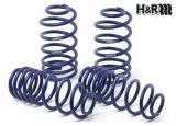 Sportovní pružiny H&R pro Ford Fiesta Typ JAS, JBS, do výkonu 76 kW, pro benzínové motory, s cilindrickými zad. pružinami, r.v. od 96 do 04/00, snížení 35/35mm