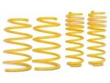 Sportovní pružiny ST suspensions pro Audi 80/90 (89) s poh. předních kol, Sedan/Coupé, r.v. od 09/86 do 08/91, zatížení PN do 880Kg, snížení 40/40mm