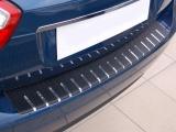 Kryt prahu pátých dveří - nerez+karbon OPEL MERIVA II
