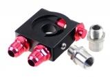 "Adaptér pod olejový filtr ProRacing M20 x 1.5 + 3/4""-16UNF s termostatem (D-10)"
