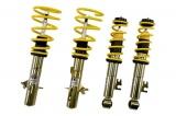 Výškově stavitelný podvozek ST suspensions pro Audi A4 (B6, B7) vč. Facelift, (8E, 8H) Avant, Cabrio, Quattro, zatížení PN -1080kg