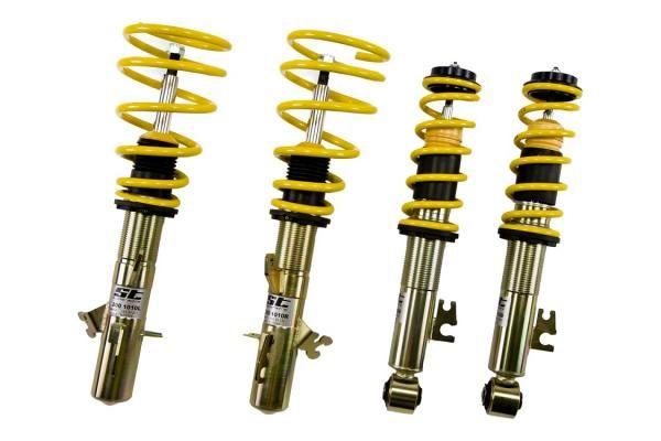 Výškově stavitelný podvozek ST suspensions pro Fiat Bravo, (198) Spodní uchycení předního tlumiče šroubem M10, zatížení PN -1060kg