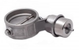 Přetlaková mechanická výfuková klapka 51mm - zavřená - pozitivní tlak (boost)