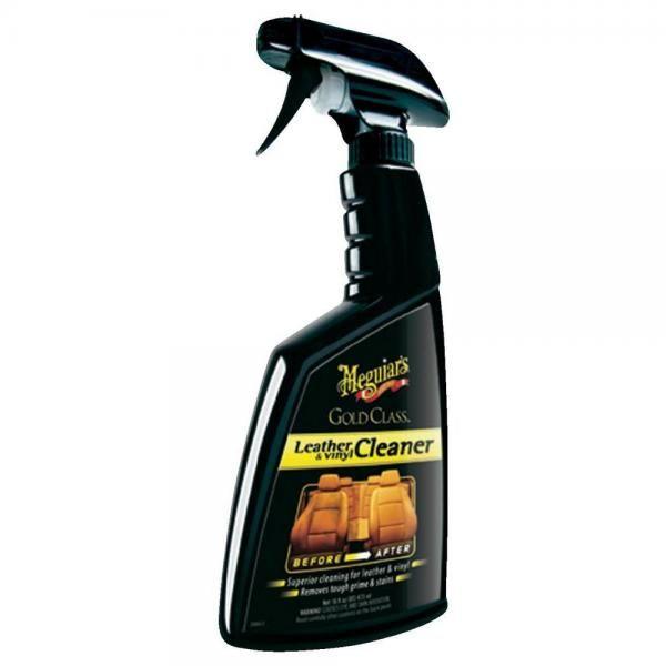 Meguiars Gold Class Leather & Vinyl Cleaner 450ml - extra účinný čistič kůže