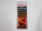 Kryty TPMS ventilků s čepičkami - červený elox