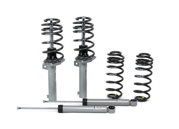 Kompletní sportovní podvozek H&R pro VW Golf I vč. Cabrio typ 17, zatížení PN do 660kg/ZN do 570kg, snížení 25-40/25-40mm