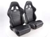 Sportovní sedačky FK Automotive - černé