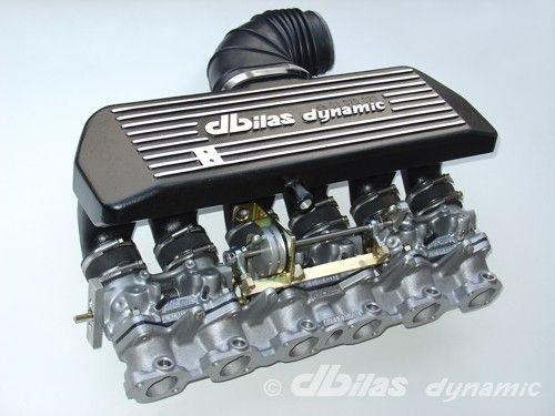 Víceklapkové sání Dbilas Dynamic BMW E30 325i / Z1 / E34 525i 2.5 12V 125KW (M20B25)