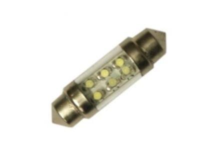 CarLight System LED autožárovka sufit 36mm - červená