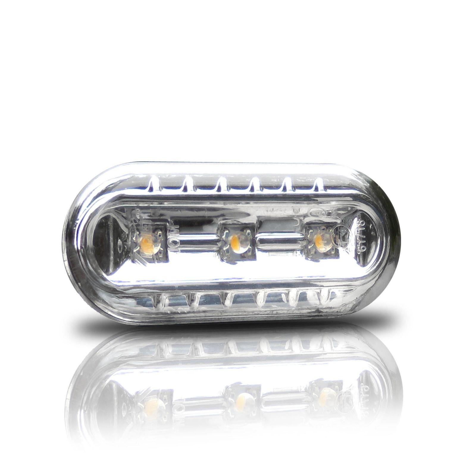 Boční blikače s LED Ford Focus - VW - Seat