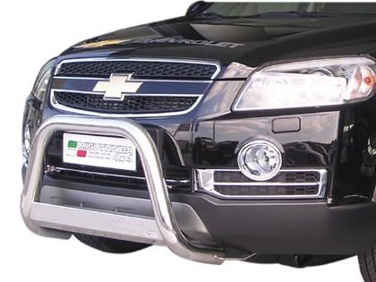 Nerezový přední ochranný rám Chevrolet Captiva, 63mm misutonida
