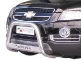 Nerezový přední ochranný rám Chevrolet Captiva, 63mm