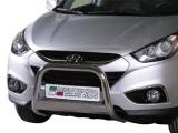 Nerezový přední ochranný rám Hyundai ix35, 63mm