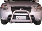 Nerezový přední ochranný rám Hyundai Santa-Fe II, 63mm
