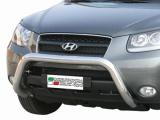 Nerezový přední ochranný rám Hyundai Santa-Fe II, 76mm