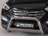 Nerezový přední ochranný rám Hyundai Santa-Fe III, 63mm