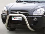 Nerezový přední ochranný rám Hyundai Tucson, 76mm