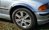 Chromové lemy blatníků BMW 3 (E46), 4-dvéř. sedan, kombi