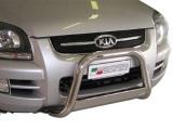Nerezový přední ochranný rám Kia Sportage II, 63mm