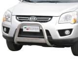 Nerezový přední ochranný rám Kia Sportage II FL, 63mm