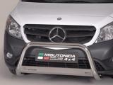 Nerezový přední ochranný rám Mercedes Citan, 63mm