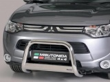 Nerezový přední ochranný rám Mitsubishi Outlander III, 63mm