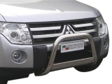 Nerezový přední ochranný rám Mitsubishi Pajero IV, 63mm