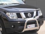Nerezový přední ochranný rám Nissan Navara II, 63mm