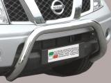 Nerezový přední ochranný rám Nissan Navara II, 76mm