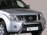 Nerezový přední ochranný rám Nissan Navara II FL, 76mm