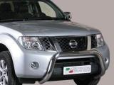 Nerezový přední ochranný rám Nissan Navara V6 II FL, 76mm
