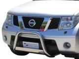 Nerezový přední ochranný rám Nissan Pathfinder III, 63mm