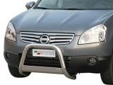 Nerezový přední ochranný rám Nissan Qashqai +2, 63mm
