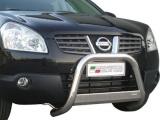 Nerezový přední ochranný rám Nissan Qashqai, 63mm