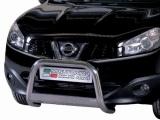 Nerezový přední ochranný rám Nissan Qashqai FL, 63mm