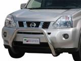 Nerezový přední ochranný rám Nissan X-Trail II, 76mm