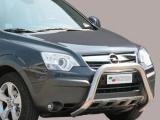 Nerezový přední ochranný rám Opel Antara, 76mm