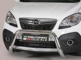 Nerezový přední ochranný rám Opel Mokka, 76mm