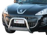 Nerezový přední ochranný rám Peugeot 4007, 63mm