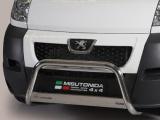Nerezový přední ochranný rám Peugeot Boxer, 63mm