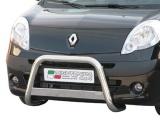 Nerezový přední ochranný rám Renault Kangoo, 63mm