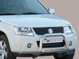 Nerezový přední ochranný rám Suzuki Grand Vitara III FL, 63mm