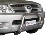 Nerezový přední ochranný rám Toyota Hilux VII, 63mm